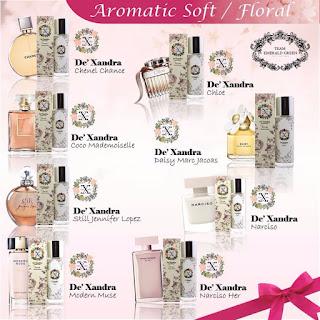 Rahsia Perfume - Bunga-bungaan,Dexandra,Bau Floral,Perfume