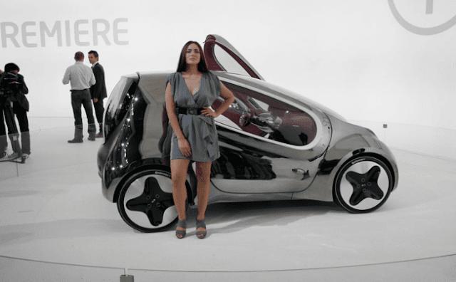 Bentuk Mobil Masa Depan Kia Pop
