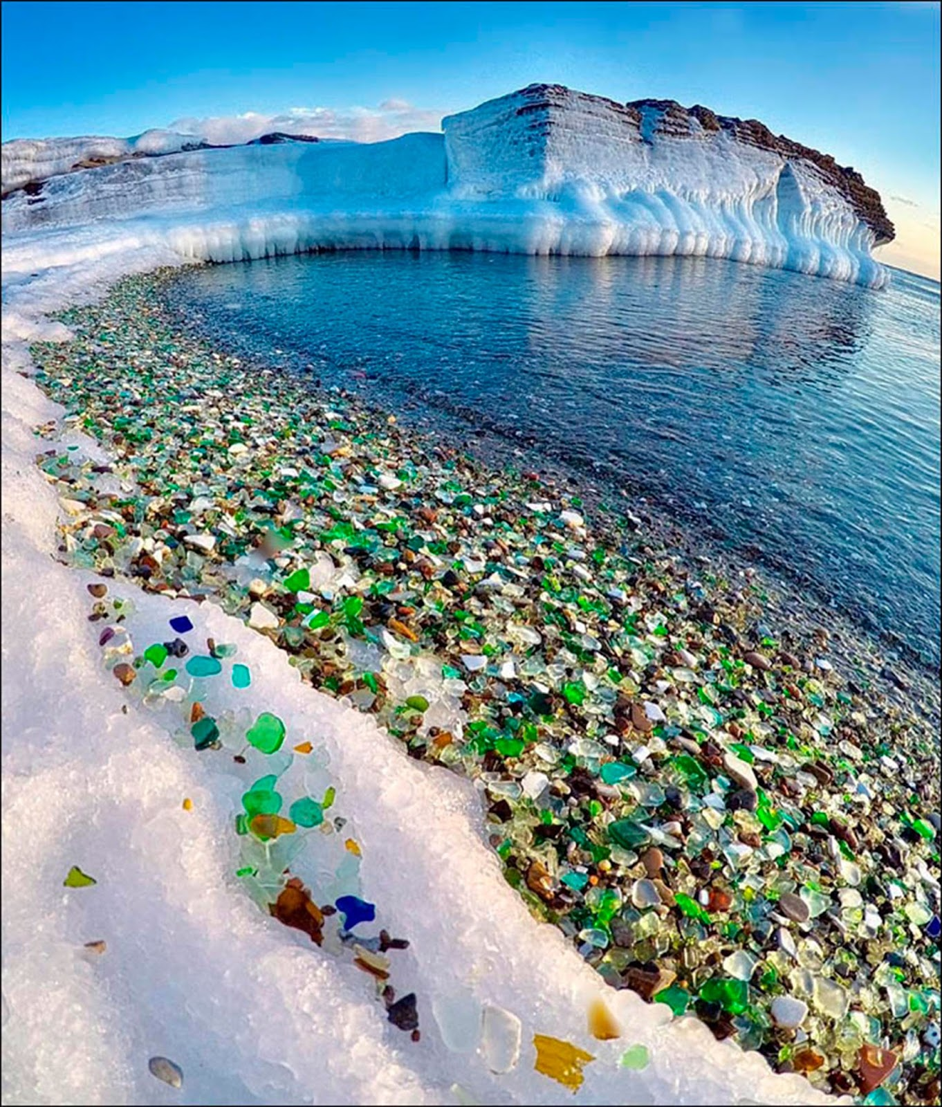 6278c8cdb70d Glass Beach is in MacKerricher State Park near Fort Bragg, California, that  is abundant in sea glass created from years of dumping garbage into an area  of ...