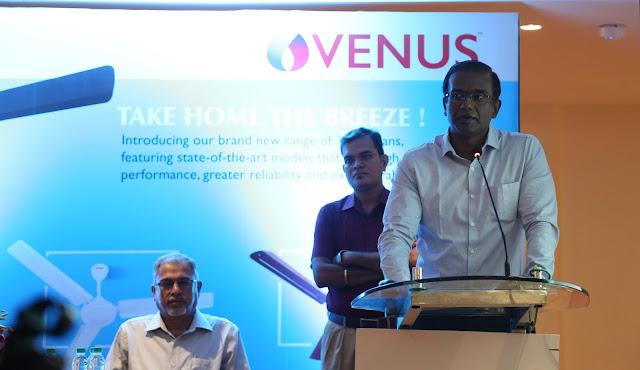 Venus Home Appliances forays into fan market