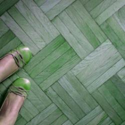 parquet-verde