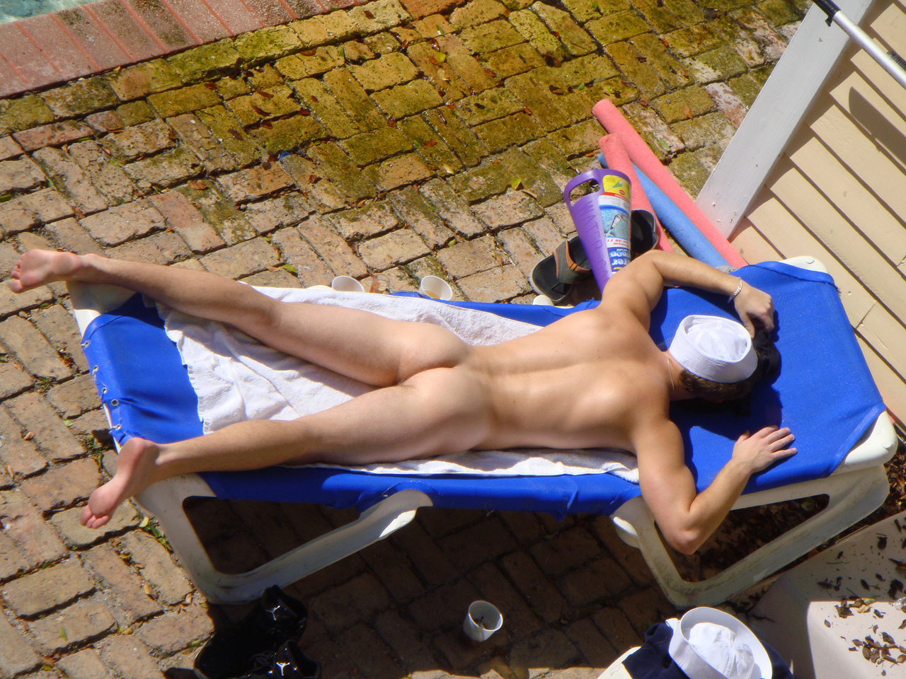 Watch Mature Neighbour Sunbathing Free