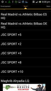 watch live matches on android