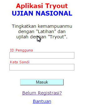 Aplikasi Try Out Ujian Nasional