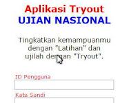 Aplikasi Try Out UN 2016 SD, SMP, SMA