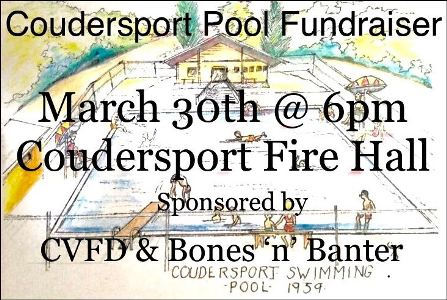 3-30 Coudersport Pool Fundraiser