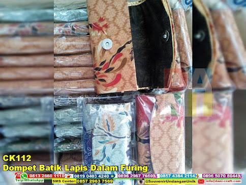 jual Dompet Batik Lapis Dalam Furing