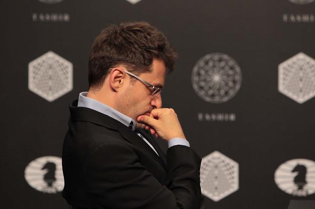 Levon Aronian en el Torneo de Candidatos 2016