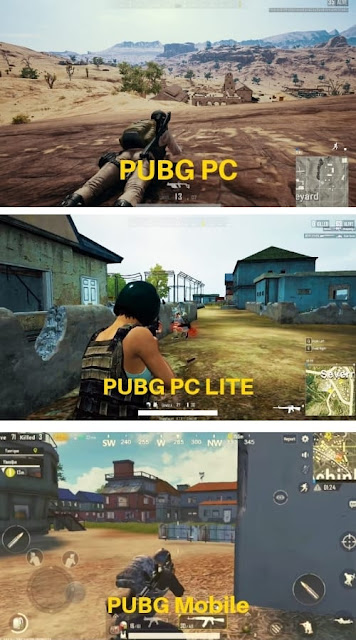 PUBG PC vs PUBG PC LITE pc PUBG Mobile, PUBG PC Lite Full Version Free
