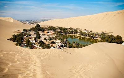Perbedaan Wadi dan Oasis