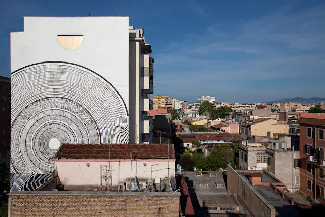 The district of Pigneto in Rome is proud to welcome a beautiful new addition to its landscape with this stunning piece by 2501.