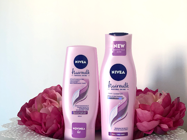 NIVEA: Pečující šampon a kondicionér Hairmilk Natural Shine