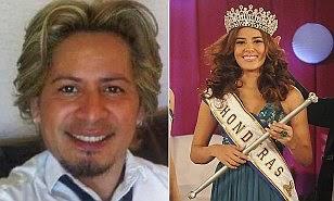 Miss Honduras Maria Jose Alvarados stylist Luis Alfredo