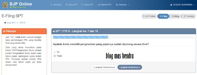 Cara Mengisi SPT (Pajak Pribadi) Tahunan Secara Online