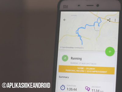 aplikasi android pecinta olahraga