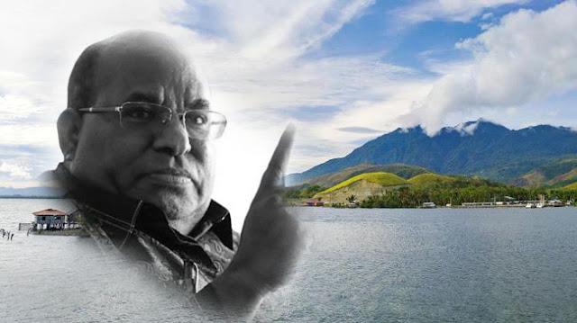 Gubernur Lukas Enembe : Tidak Boleh Lagi Ada yang Tinggal di Kaki Gunung Cyclop