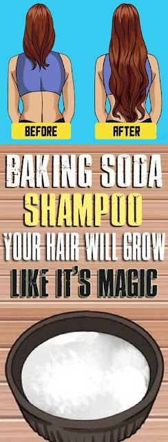 Make Amazing Baking Soda Shampoo That Will Make Your Hairs Strong And Healthy