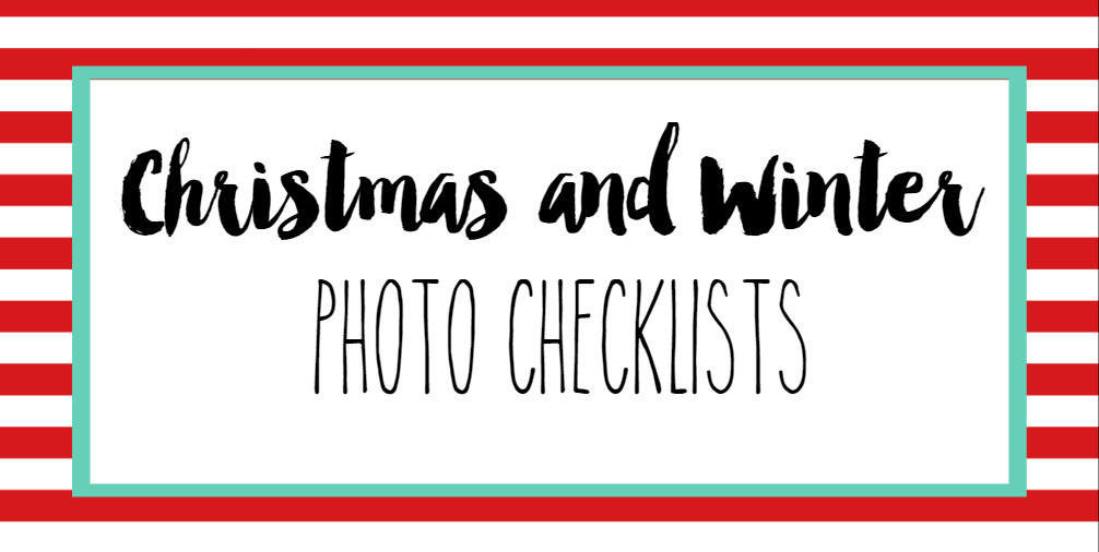 Hall Around Texas Christmas Photo Checklist