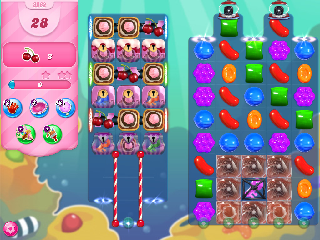 Candy Crush Saga level 3562