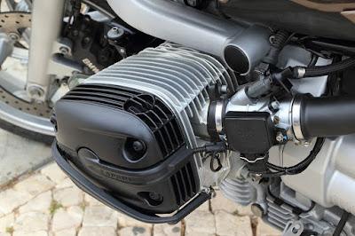 Ilustrasi mesin sepeda motor.