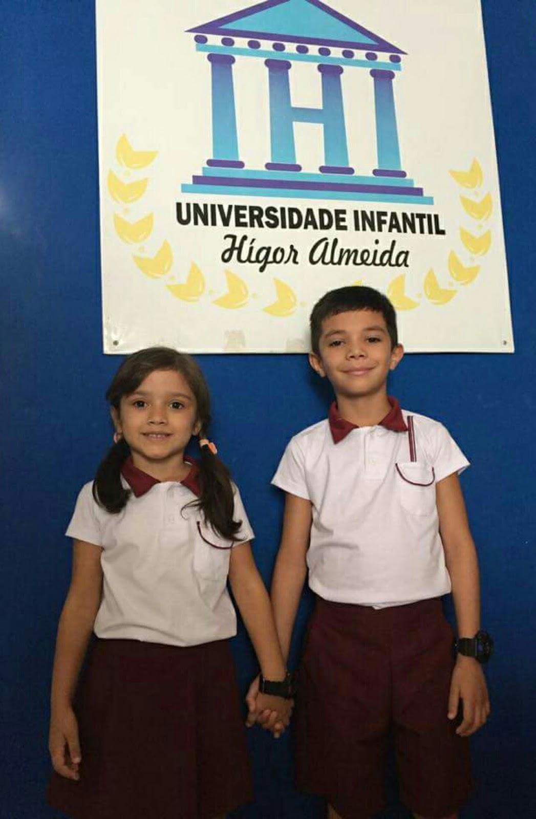 Universidade Infantil apresenta novo uniforme da escola ~ Labareeda ... 0983b9e193d8d