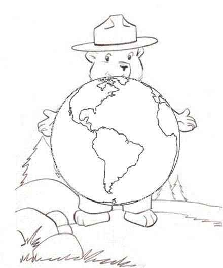 Virginia Wildfire Information and Prevention: Smokey Bear