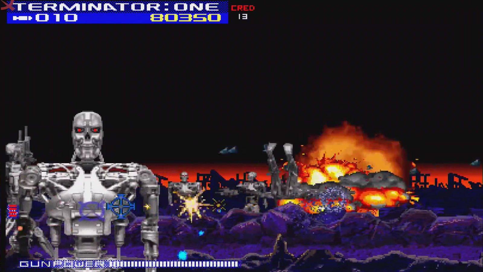 Corona Jumper: Terminator 2: The Arcade Game (Various, 1991