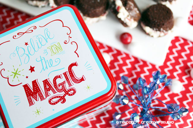 believe in the magic, holiday treats, baking for the holidays, brownies