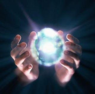 Two hands holding an Energy Ball