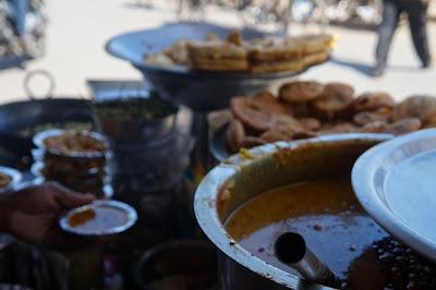 Penjual Cemilan, Chadni Chowk, New Delhi, India