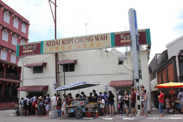 Malacca Melaka Chicken Rice Ball Stall