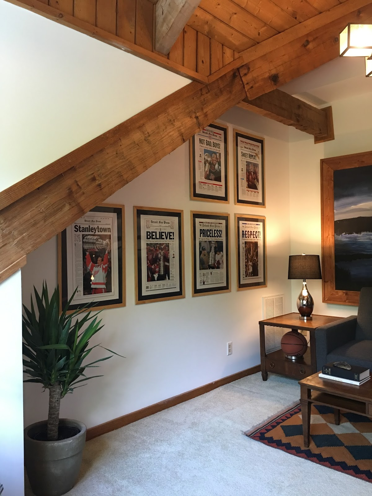 Hood Creek Log Cabin: One Room Challenge [Modern Rustic Home Office . Full resolution  picture, nominally Width 1200 Height 1600 pixels, picture with #A05A2B.