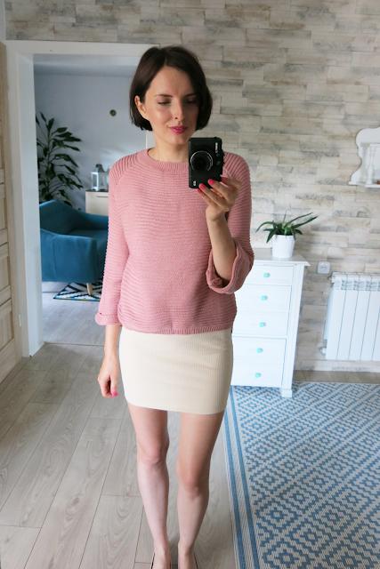 Sweterek | Mini sukienka