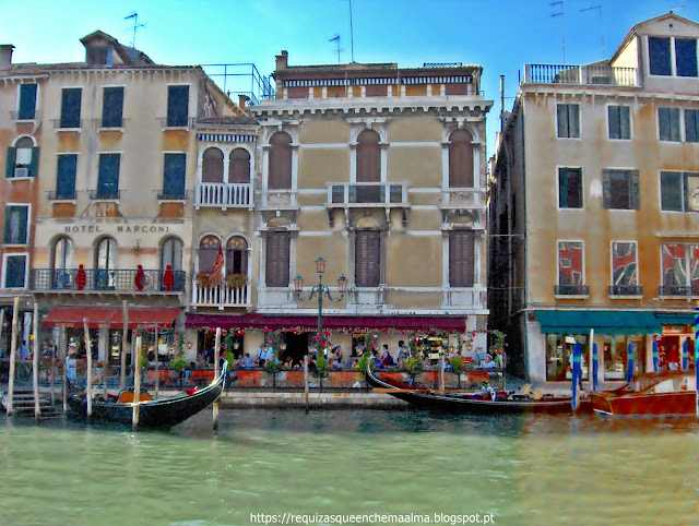 Margem do Grande Canal, Veneza