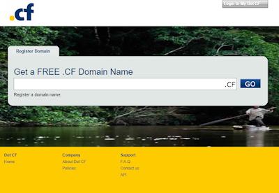 Daftar situs penyedia domain Gratis - Kampuscloud