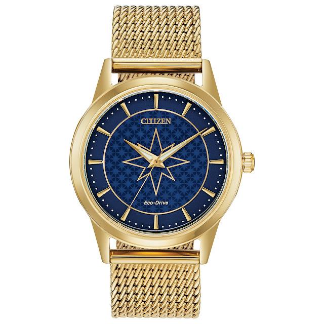 Captain Marvel Timepiece by Citizen.