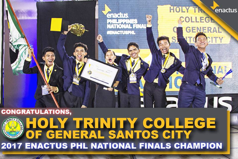 HTC-Gensan is 2017 Enactus Philippines National Champion, to compete in London