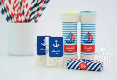 festa marinheiro adesivo personalizado