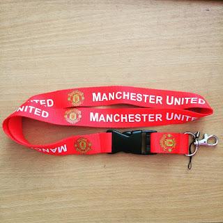 Jual Tali Lanyard Manchester United