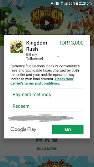 Cara Melakukan Pembayaran Pembelian Aplikasi di Playstore Dengan Pulsa