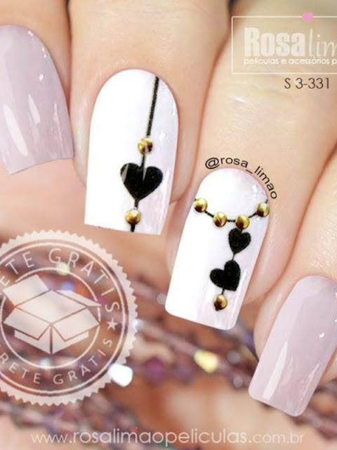 10 Beautiful nail art ideas for Valentine's Day | Kooklitsa for Ioanna's Notebook