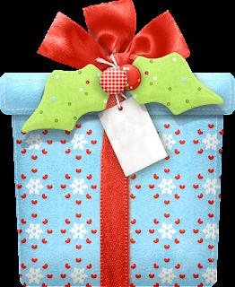 Regalos del Clipart Dulce Navidad.