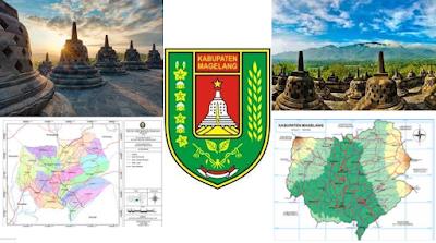 Gambar Wisata, Peta Dan Logo Kabupaten Magelang