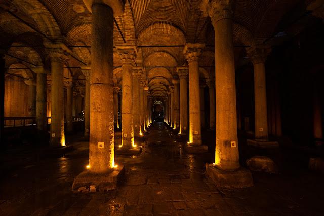 Basilica cisterna-Istanbul