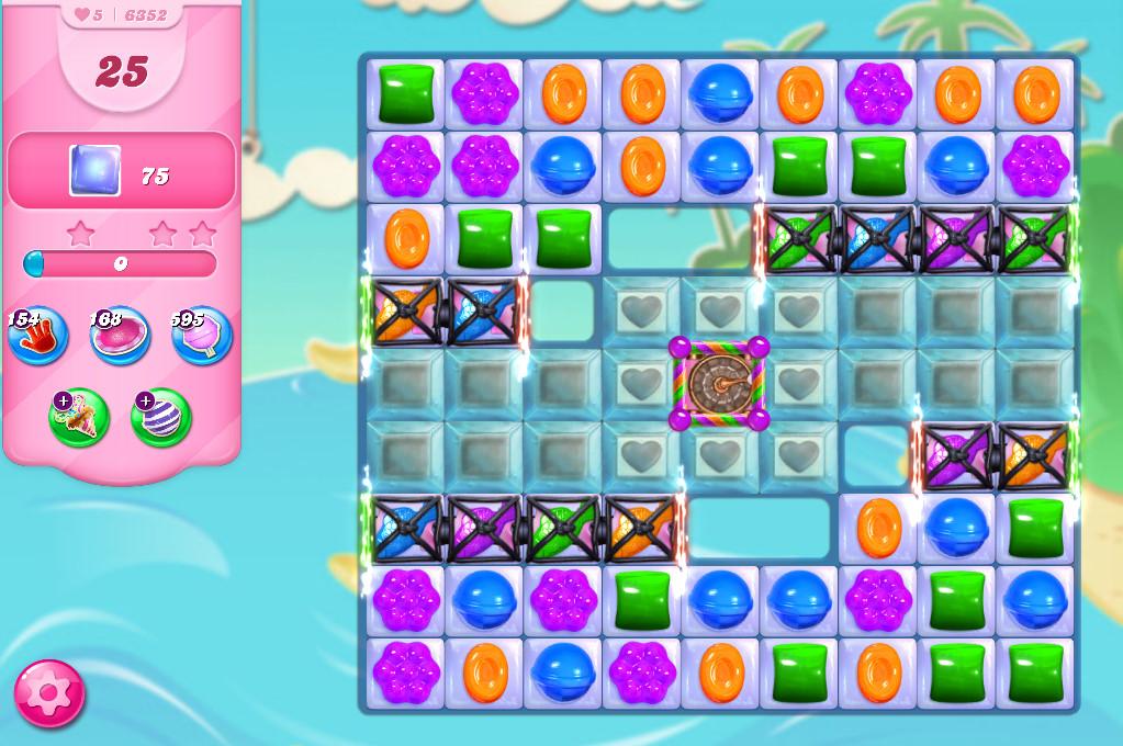 Candy Crush Saga level 6352