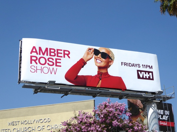 Amber Rose Show VH1 season 1 billboard