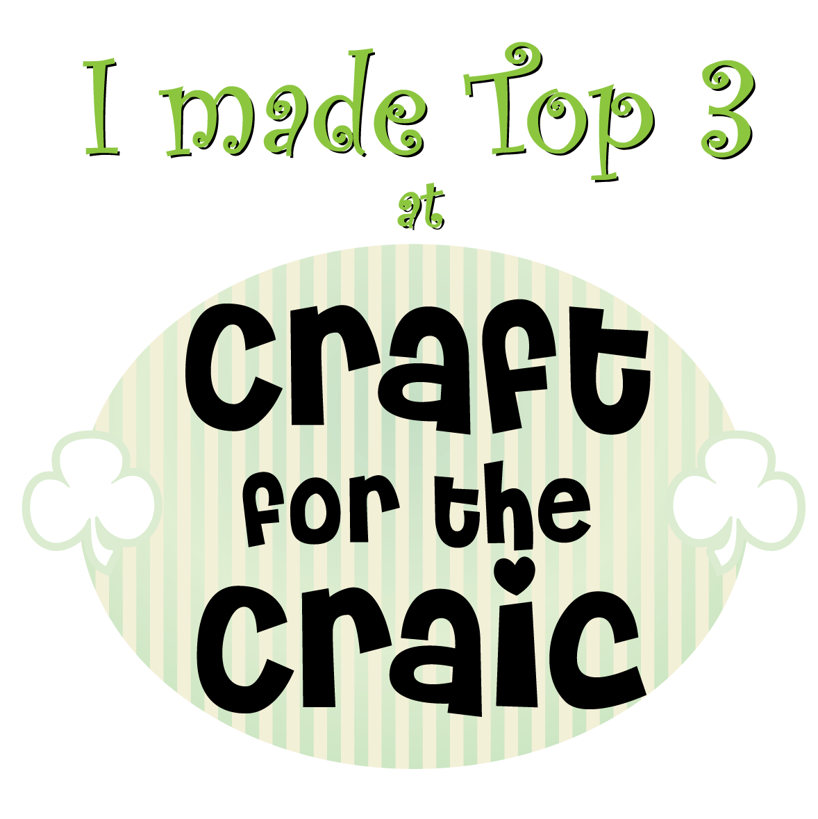 Top 3 at Craft for the Craic!