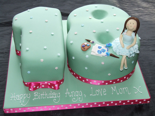 Girls Th Birthday Cake Ideas