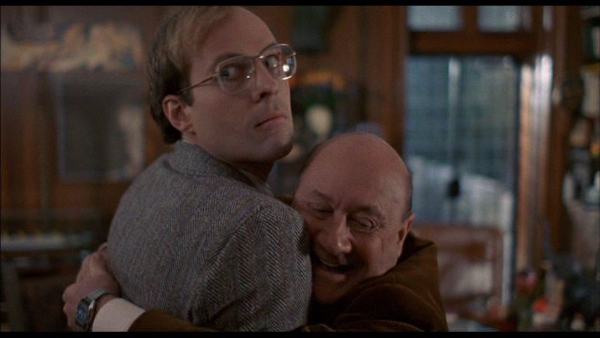 Dwight Schultz and Donald Pleasence in Alone In The Dark (1982)