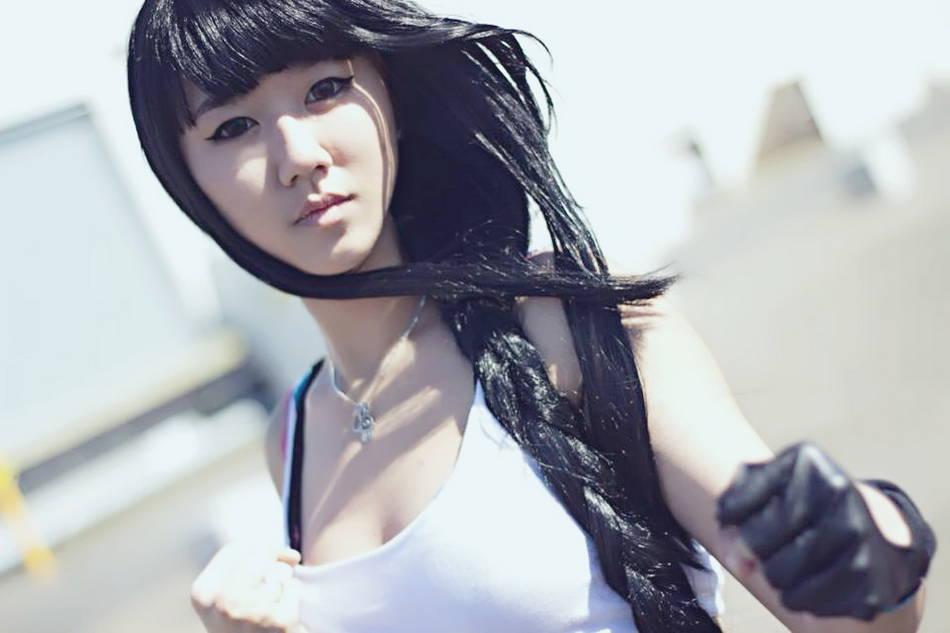 tifa hot cosplay